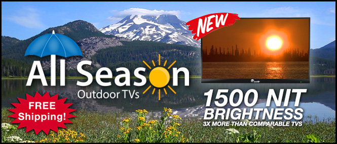 All Season Outdoor TVs