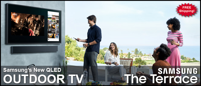 Samsung's The Terrace Outdoor TV
