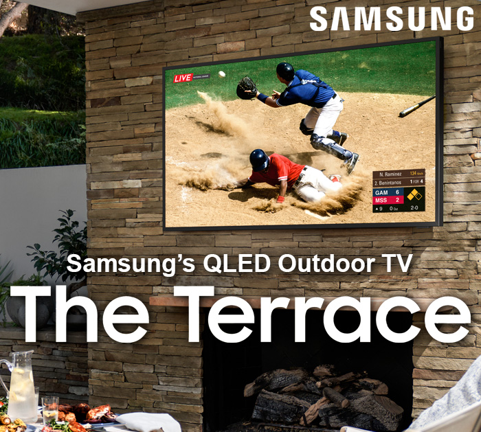 Samsung Terrace Outdoor TVs
