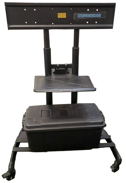 Miragevision Portable Tv Cart