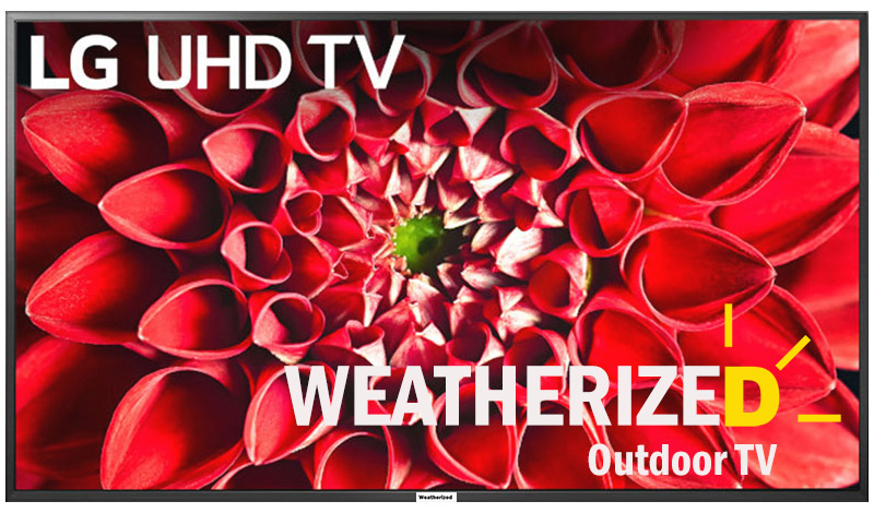 "50"" Weatherized LG Outdoor TV"