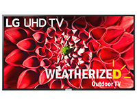 Weatherized Outdoor TV