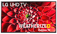 Weatherized LG TV