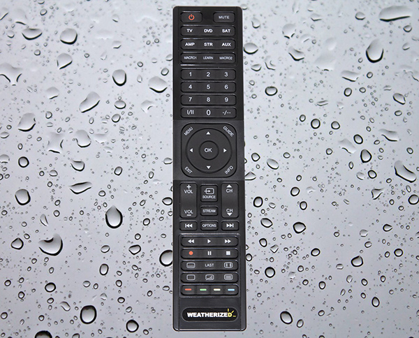 Weatherized Outdoor Remote